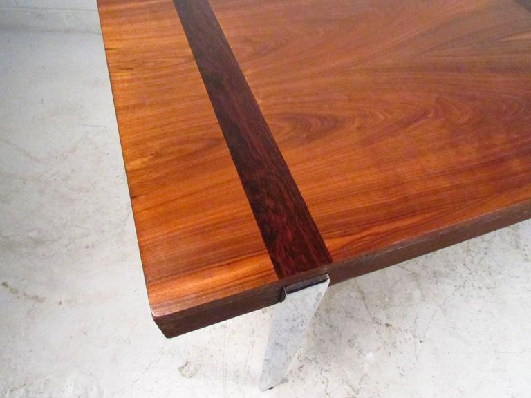 Vintage Modern Dining Table by Lane For Sale 1