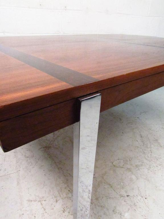 Vintage Modern Dining Table by Lane For Sale 2