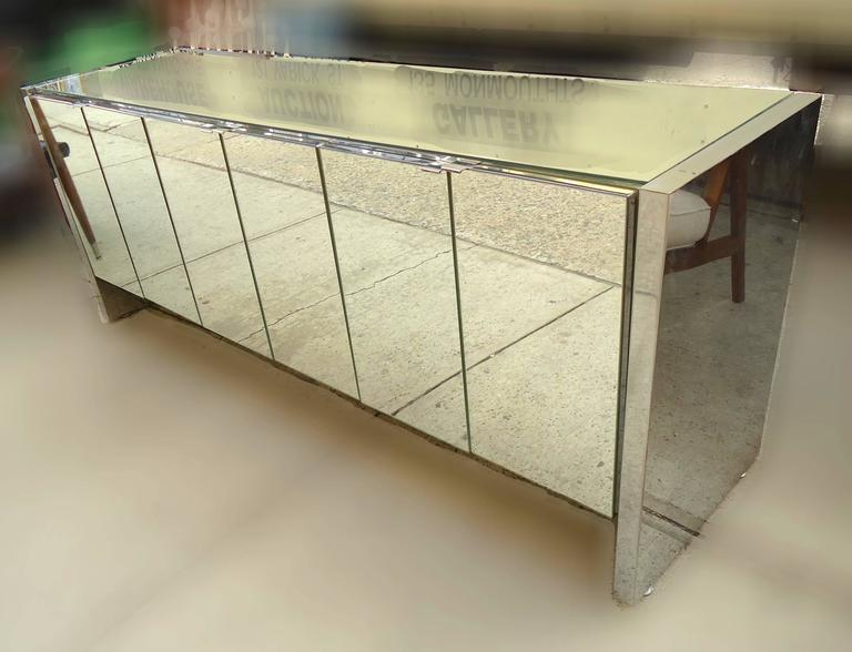 Beautiful Ello Furniture Mirrored Credenza 2