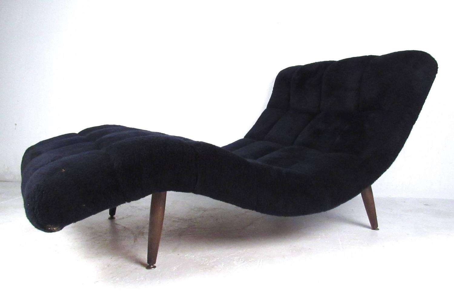 Mid Century Modern Double Chaise Lounge By Adrian Pearsall At 1stdibs