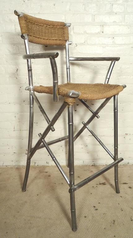 Bar Stools With Terrific Formed Frames At 1stdibs