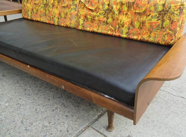 Mid-Century Modern Fantastic Midcentury Sectional Sofa by Frank & Son For Sale