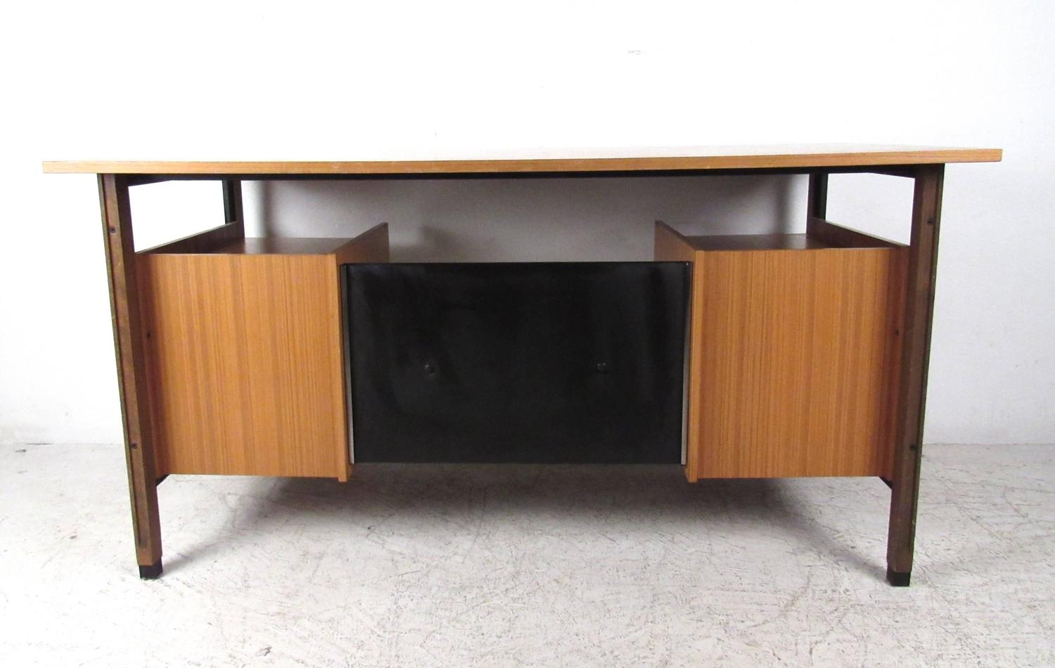 Unique midcentury style floating top desk for sale at 1stdibs for Floating desk for sale