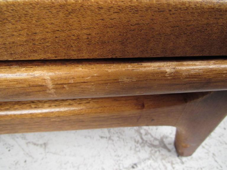 Mid-Century Modern Basket Weave Cabinet by Warren Church for Lane For Sale 5