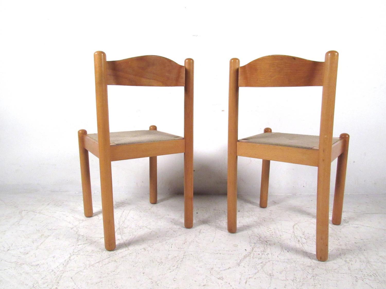Italian Rush Seat Dining Chairs At 1stdibs