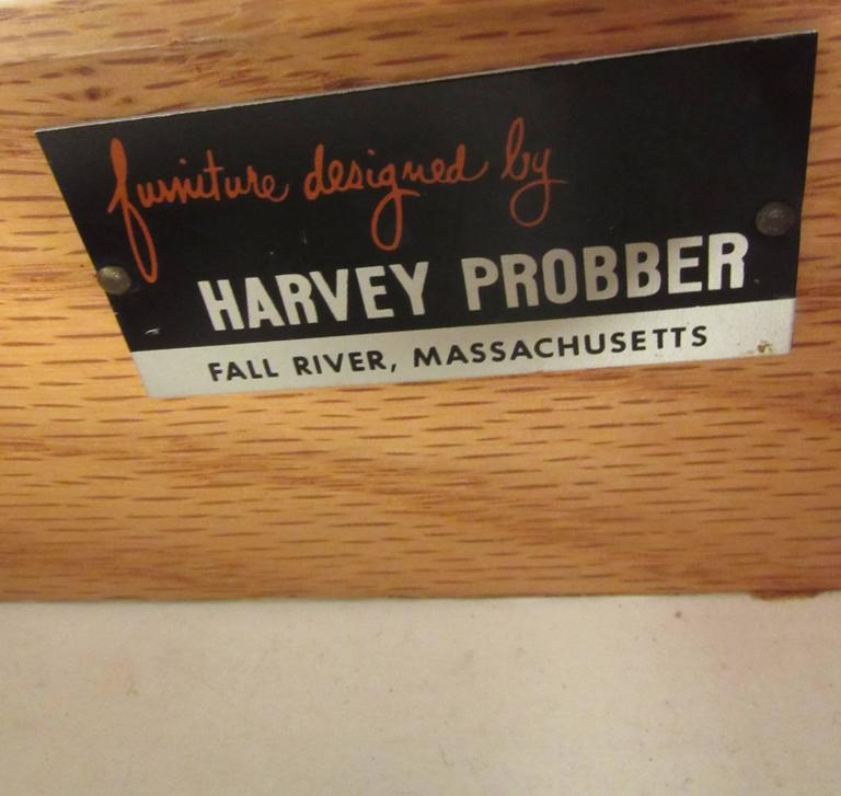 Mahogany Harvey Probber Chest of Drawers For Sale