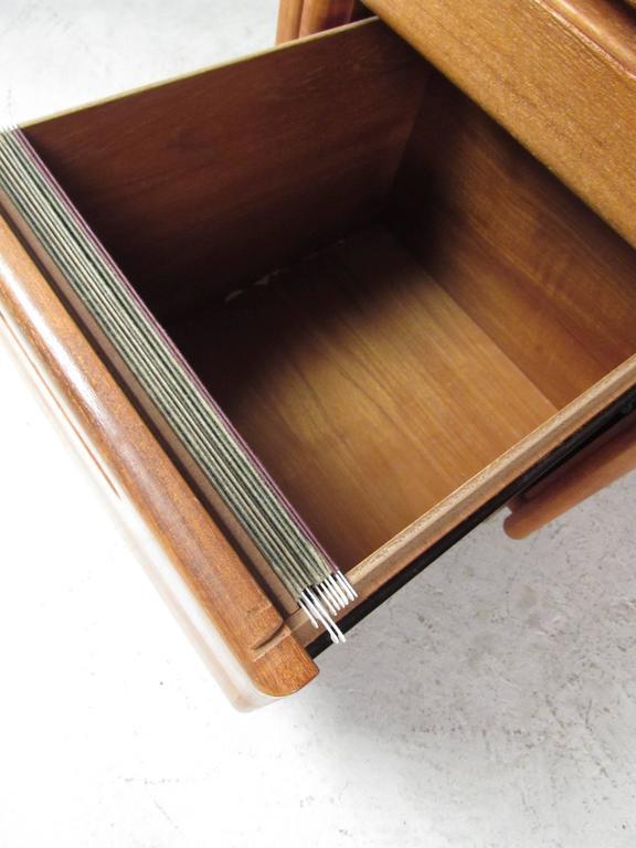 20th Century Impressive Danish Modern Executive Desk For Sale