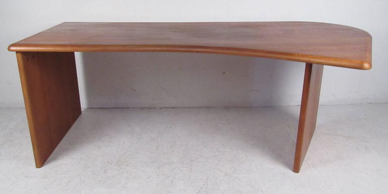Scandinavian Modern Impressive Danish Modern Executive Desk For Sale