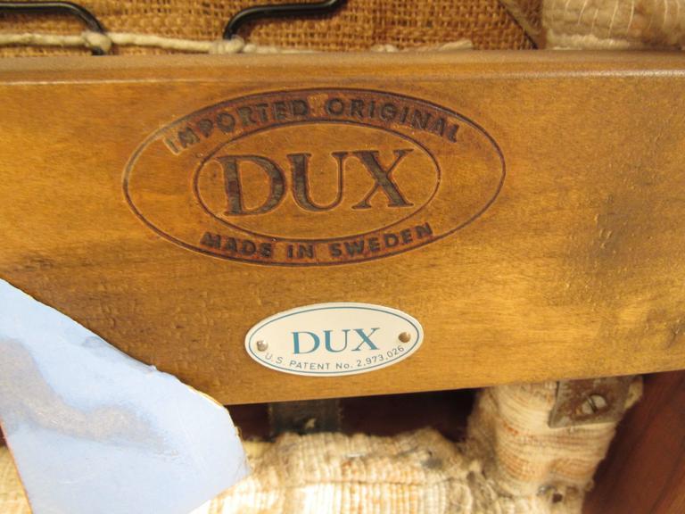 Teak Folke Ohlsson Reclining Lounge Chair for DUX For Sale