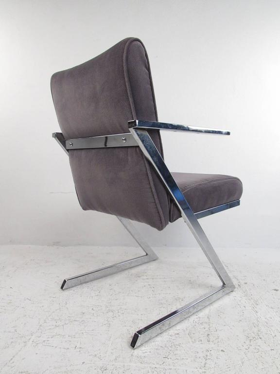 American Set of Four Dining Chairs by Milo Baughman for Design Institute of America For Sale