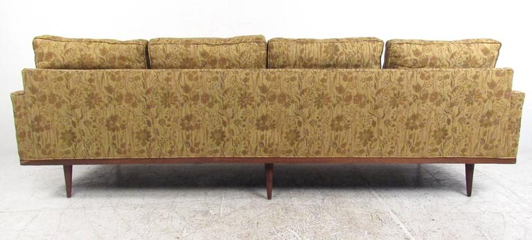 Mid-Century Modern Milo Baughman Sofa for Thayer Coggin For Sale