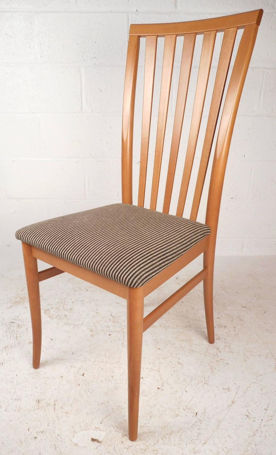 Maple dining room chairs sale vintage century quot chin hua quot maple dining room table and - Contemporary dining furniture sale ...