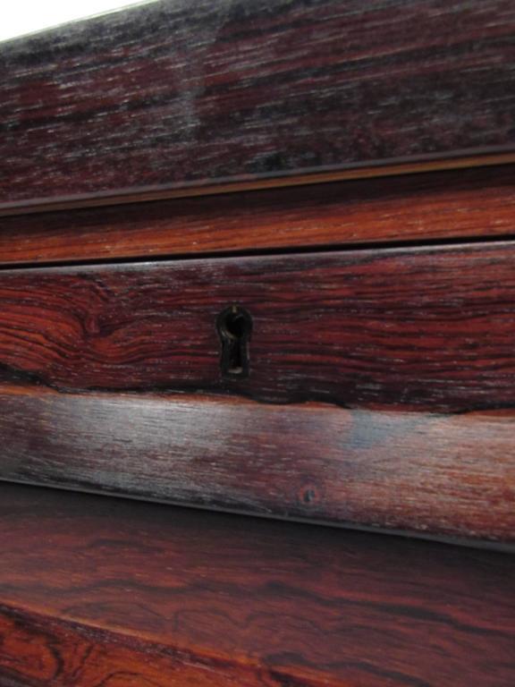 Mid-Century Modern Rosewood Executive Desk by Kai Kristiansen For Sale 5