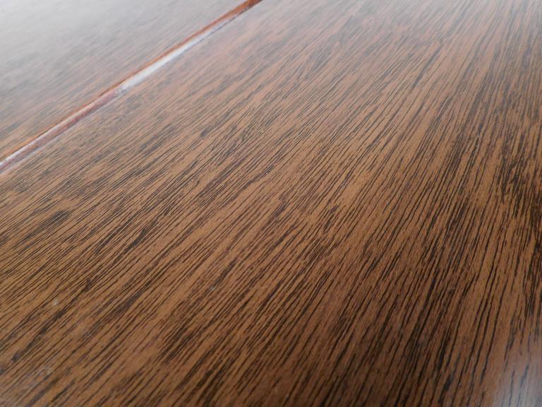 Mid-Century Modern Dunbar Style Slat Bench For Sale 2