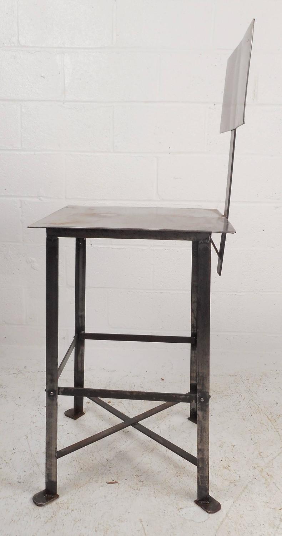 Industrial Modern Metal Bar Stool For Sale At 1stdibs