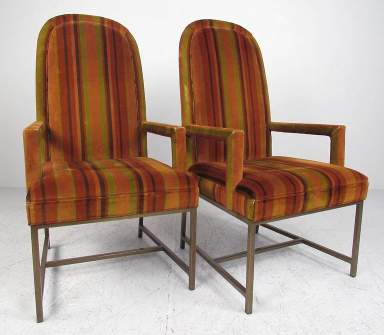 American Mid-Century Modern Highback Armchairs For Sale