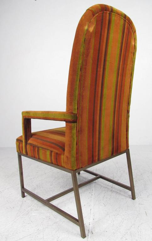 Mid-Century Modern Highback Armchairs In Good Condition For Sale In Brooklyn, NY