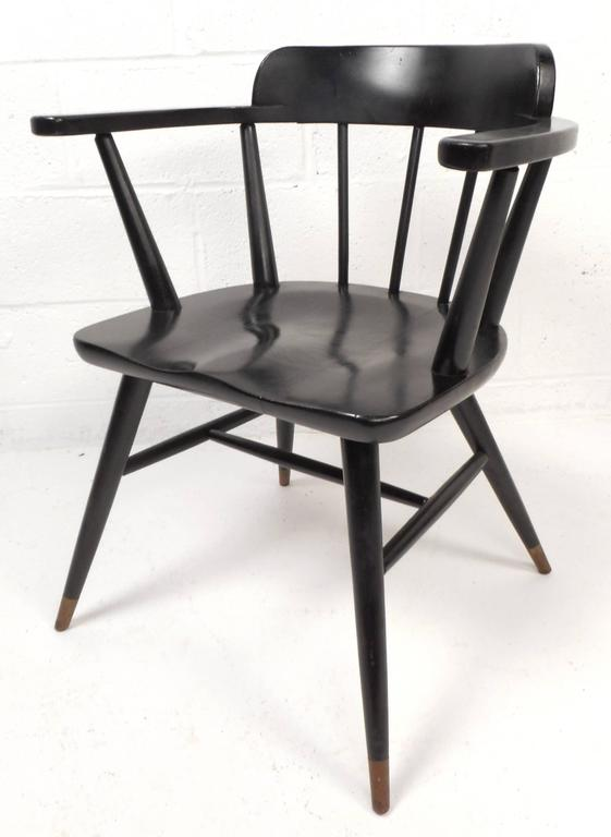 set of midcentury modern dining chairs 2