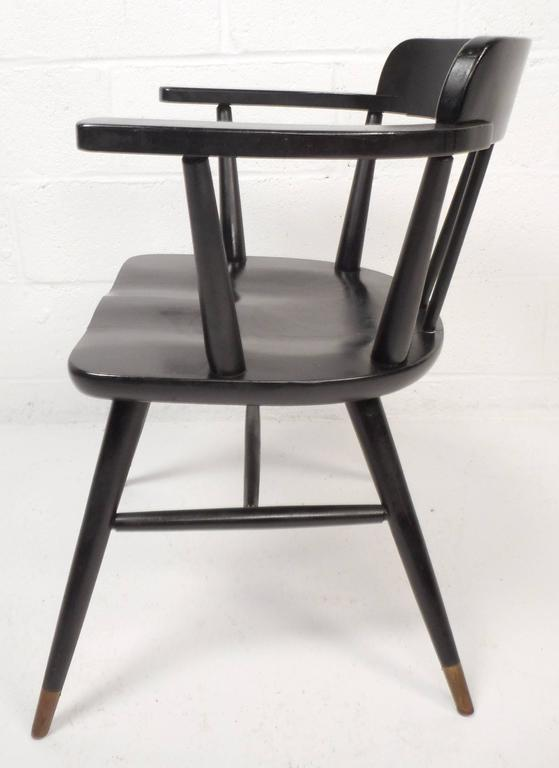 set of midcentury modern dining chairs 3