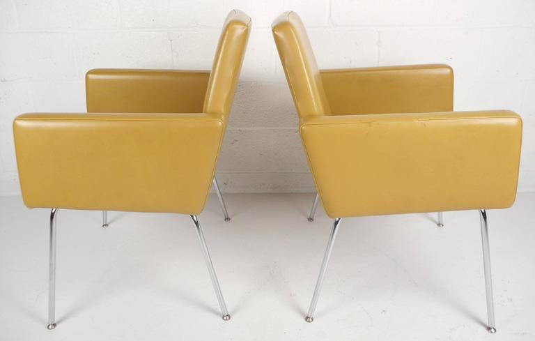 American Mid-Century Modern Lounge Chairs by J.G. Furniture Company For Sale
