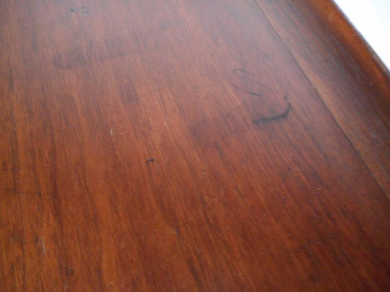 Mid-Century Modern Square Walnut Coffee Table by Bassett For Sale 1