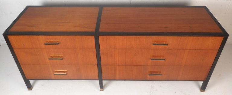 American Mid-Century Modern Dresser by Harvey Probber For Sale