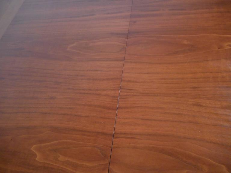 Mid-Century Modern Walnut Dining Table by Drexel For Sale 1