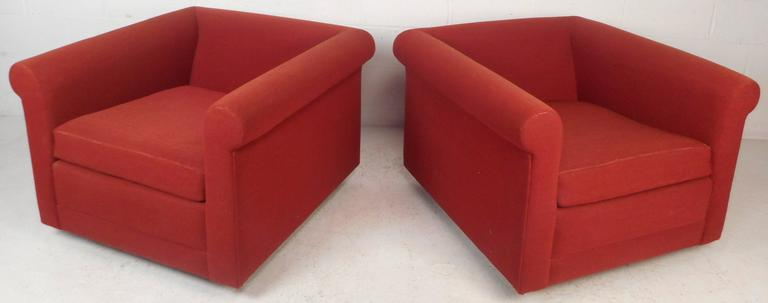 Mid-Century Modern Contemporary Modern Lounge Chairs For Sale