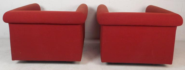 20th Century Contemporary Modern Lounge Chairs For Sale