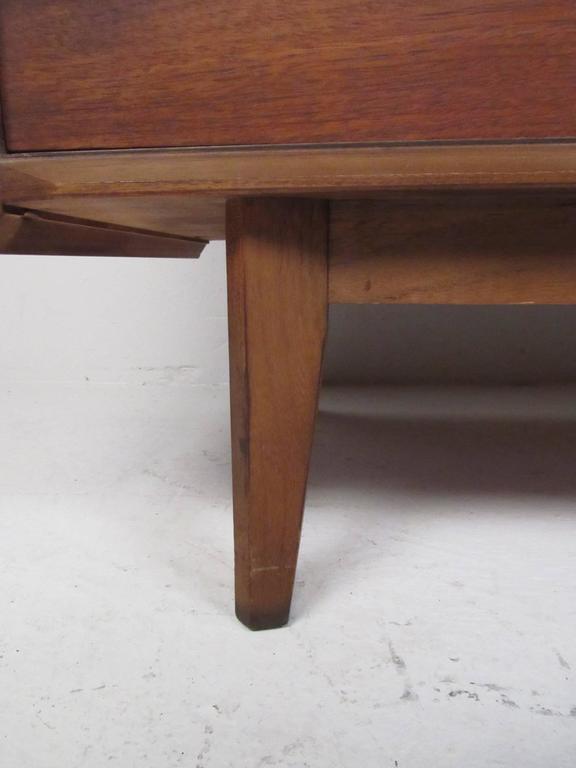 Mid-Century Walnut Dresser by Lane For Sale 1