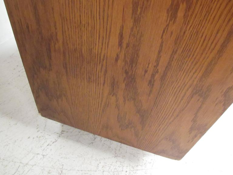 Mid Century Brutalist Armoire By Lane For Sale At 1stdibs