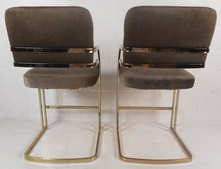 Mid Century Modern Bar Stools In The Style Of Milo