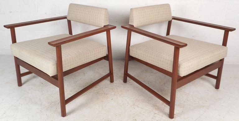 American Mid-Century Modern Armchairs For Sale