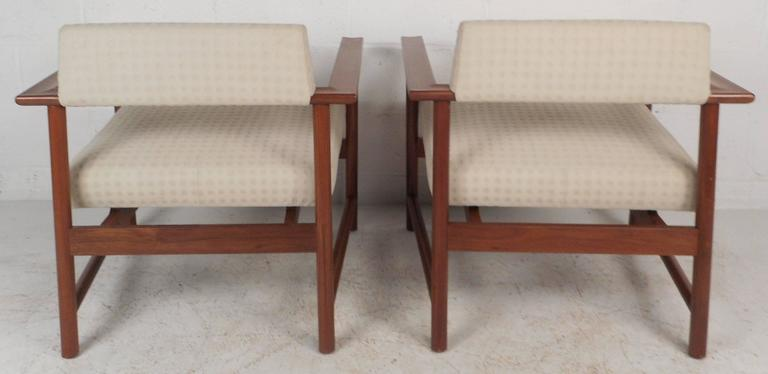 Late 20th Century Mid-Century Modern Armchairs For Sale