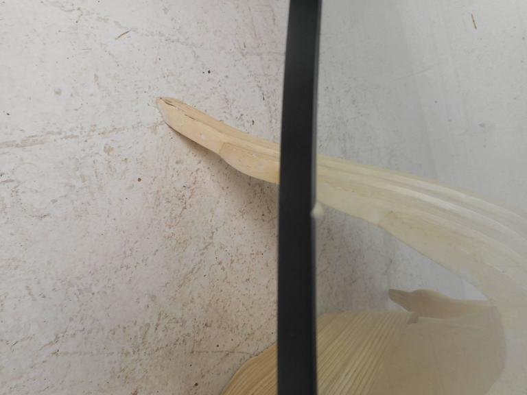 Elegant Mid-Century Modern Swan Coffee Table 5
