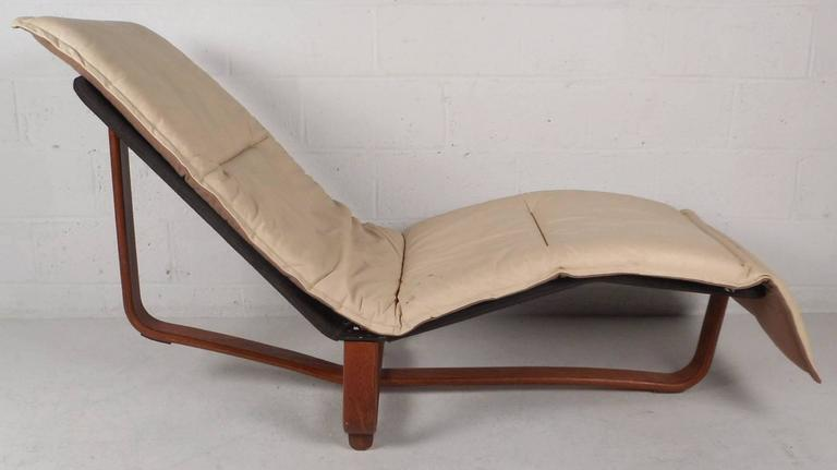 Mid-Century Modern Chaise Longue by Ingmar u0026 Knut Relling for Westnofa 2 : mid century modern chaise - Sectionals, Sofas & Couches