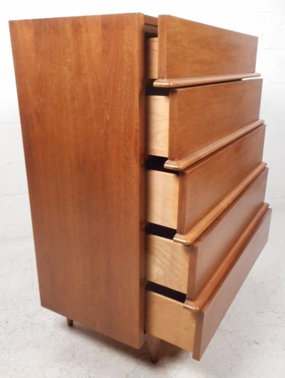 Impressive Mid-Century Modern Bedroom Set by American of Martinsville For Sale 1