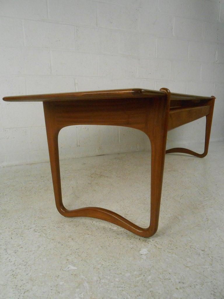 Mid-20th Century Peter Hvidt Teak Coffee Table For Sale