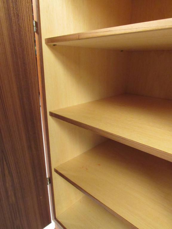Scandinavian Modern Teak Storage Cabinet For Sale 1