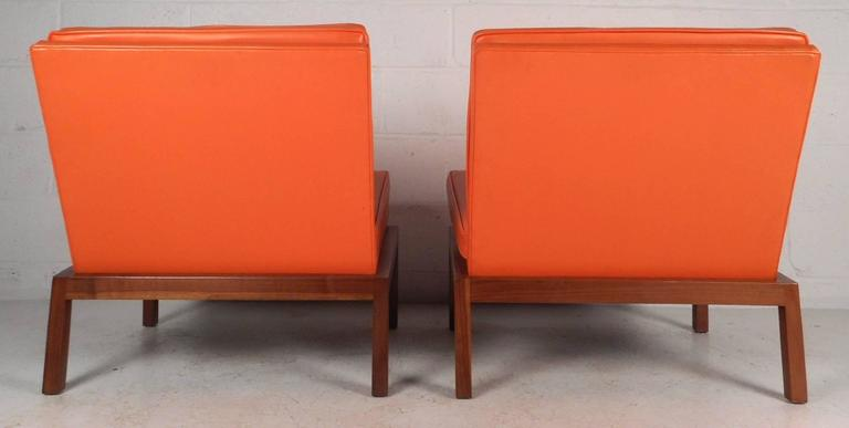 Mid-Century Modern Slipper Lounge Chairs by Milo Baughman for Thayer Coggin In Good Condition For Sale In Brooklyn, NY