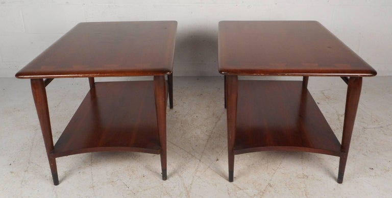Mid Century Modern End Tables By Lane Furniture For Sale At 1stdibs