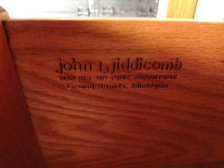Mid-Century Modern Dresser and High Boy by John Widdicomb For Sale 2