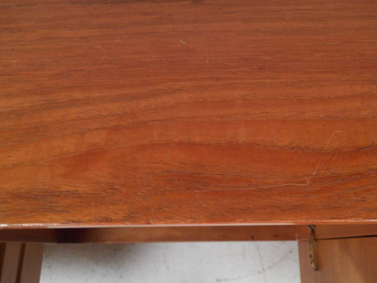 Large Mid-Century Modern Danish Teak Credenza For Sale 2
