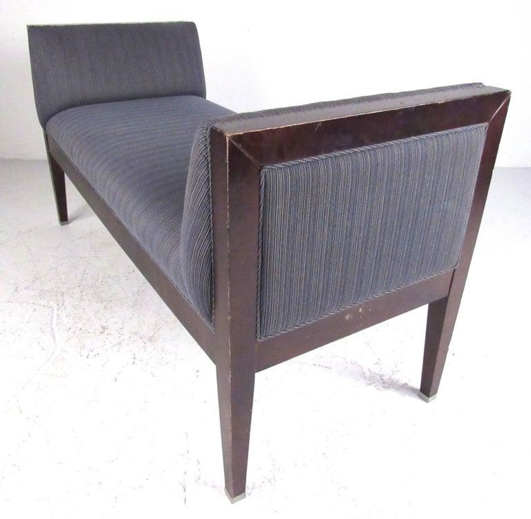 Milling Road Baker Furniture Upholstered Bench For Sale At 1stdibs