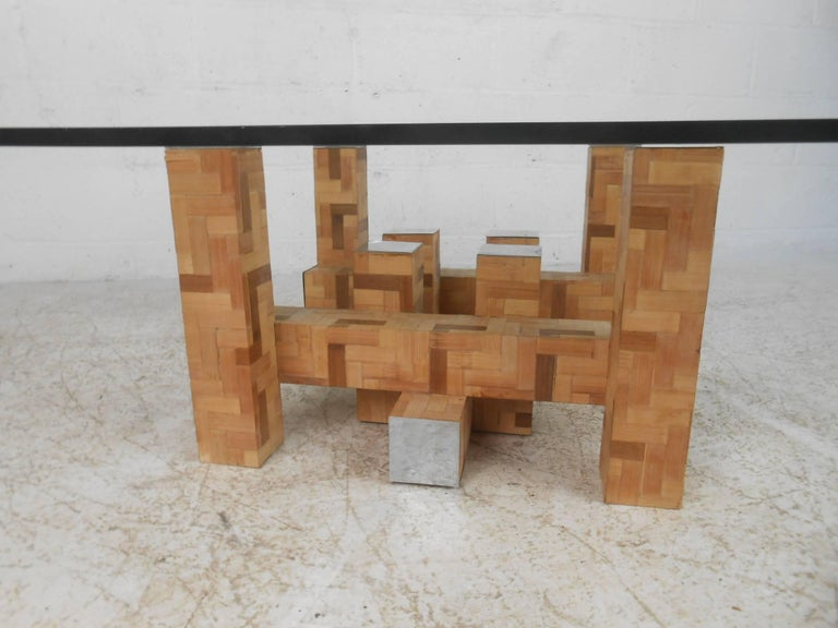 Late 20th Century Mid-Century Modern Coffee Table by Paul Evans For Sale