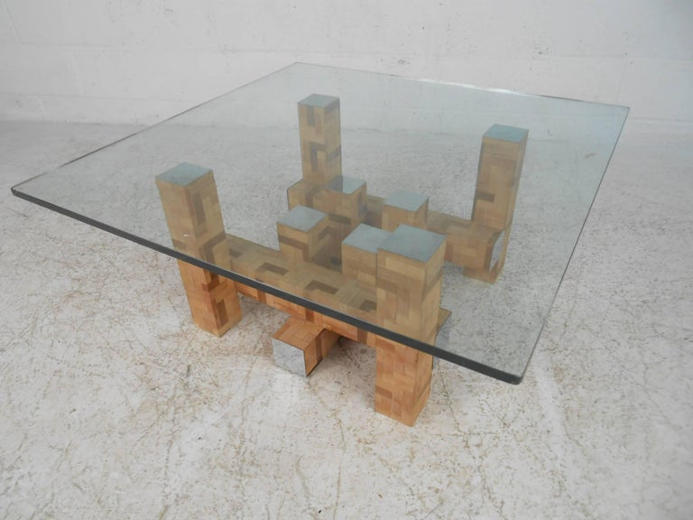 Mid-Century Modern Coffee Table by Paul Evans In Good Condition For Sale In Brooklyn, NY
