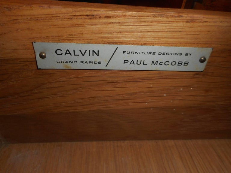 Late 20th Century Paul McCobb Dresser for Calvin Furniture For Sale