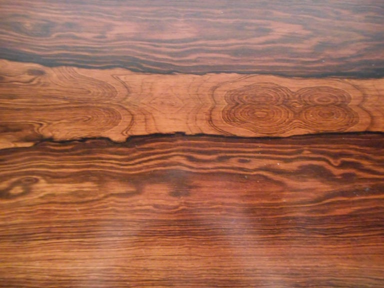 Mid-Century Modern Rosewood Draw Leaf Dining Table by Edmund Jorgensen For Sale 2