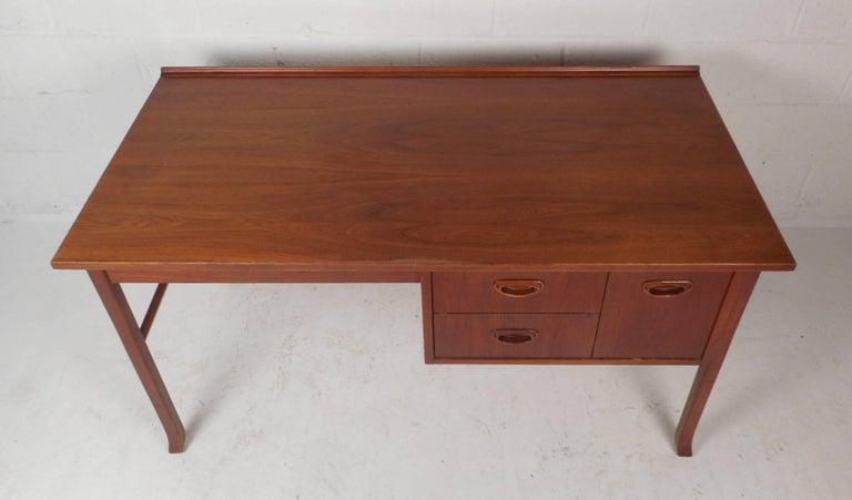 Mid-Century Modern Danish Teak Desk 3