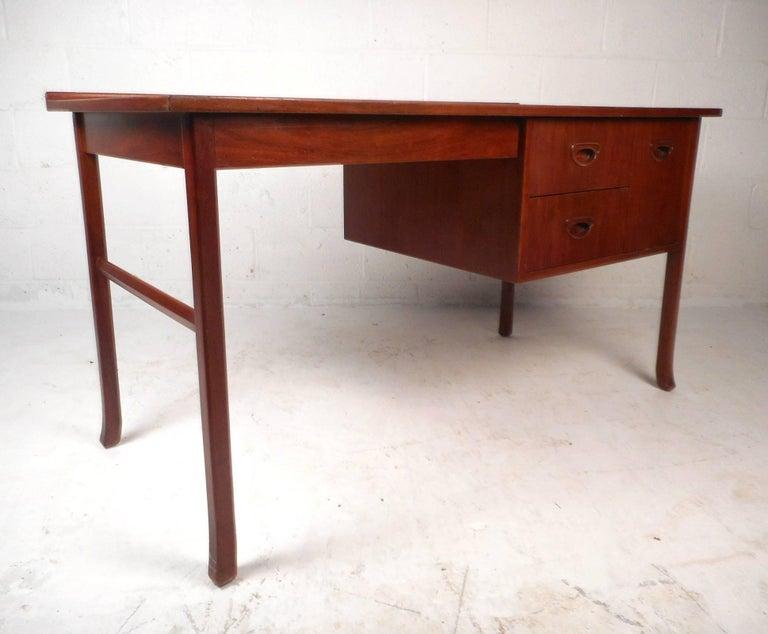 Mid-Century Modern Danish Teak Desk 4